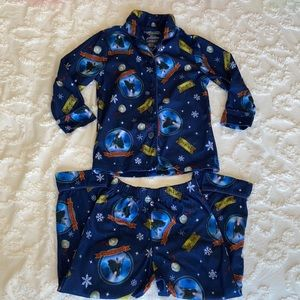 Polar express pajama set